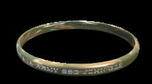 POW Name Memorial Bracelet