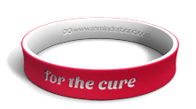 For the Cure Dual-Layer Wristband