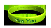 I Miss You Bracelet