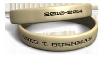 Custom Name Desert Sand Wristband