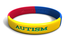 Multicolor Autism Band